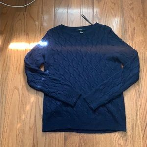 Blue Forever 21 Sweater With Design